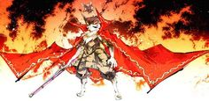 Shaman King Creator's Nekogahara Collaborates with Nobunaga's Ambition Game