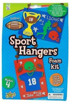 foam sport hanger kit Case of 48