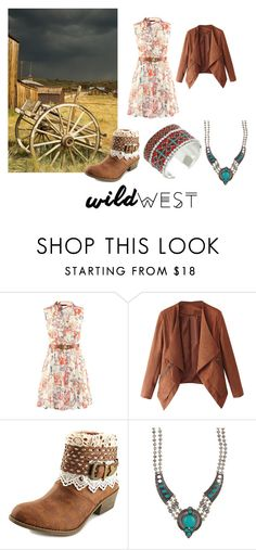 """Wild West"" by vintagesiren ❤ liked on Polyvore featuring TigerBear Republik, Eye Candy, M&F Western and wildwest"