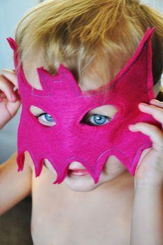 DIY Batman Masks!