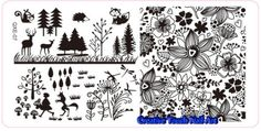 Buy NAIL ART IMAGE STAMPING PLATE (OXE-SERIES)for R58.60