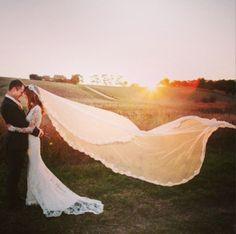Beautiful sunset #weddingphotography - Plan your #weddings at www.myweddingconcierge.com.au
