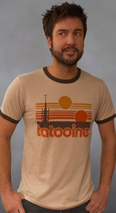 Tatooine ringer t-shirt / In memoriam Uncle Owen and Aunt Beru