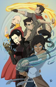 Character Sketches, Character Design, Legend Of Aang, Avatar Series, Korra Avatar, Nickelodeon, Korrasami, Fan Art, Avatar The Last Airbender