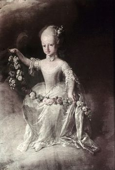 Marie Antoinette's Siblings...  the oldest died at age 3