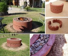Backyard fire pits are a great addition to your home. You can DIY a . 15 Stone Fire Pits to Spark Ideas for Your Outdoor Space from gardenideas.