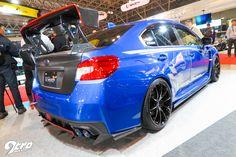 2015年東京オートサロン Newly kitted up Subaru WRX STI by Varis.