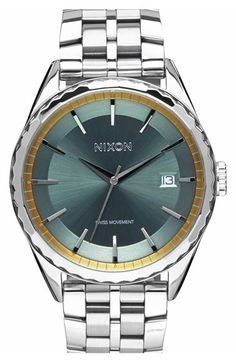 Nixon 'The Minx' Bracelet Watch, 39mm available at #Nordstrom