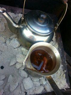Turkish coffee n tea on the grill taste the best!