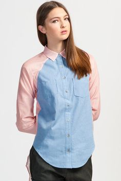 Funktional Striped Worker Shirt