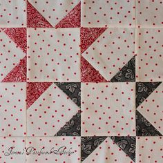 Make Mine a DOUBLE Please by Jovita's Patchwork Atelier, via Flickr
