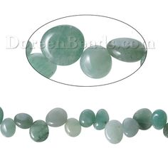 Worldwide Free Shipping (Grade B) Aventurine (Natural) Loose Beads Irregular Green About 16mm( 5/8) x 11mm( 3/8), Hole: Approx 0.5mm, 40cm(15 6/8) long, 1 Strand (Approx 54 PCs/Strand) [B68265] at incredible low price– DoreenBeads.com