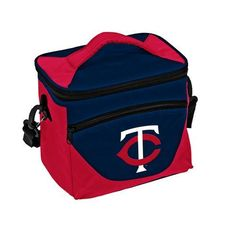 Logo™ Minnesota Twins Halftime Lunch Cooler (Blue Dark, Size ) - Pro Licensed Product, Pro License Cap/Novelty Events at Academy Sports