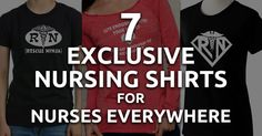 7 Exclusive Nursing Shirts for Nurses Everywhere --- What's your favorite nursing shirt? Are you a Rescue Ninja or are you a Super Nurse? QD Nurses highlights some of the most exclusive nursing shirts around. --- #nclex #nursing #nclextips #nclex_tips #nurse #nursingschool #nursing_school #nursingstudent #nursing_student