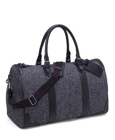 Tweed Duffle Bag | Brooks Brothers
