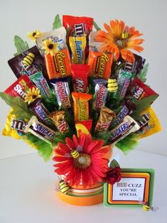 Candy Gift Basket/Bouquet