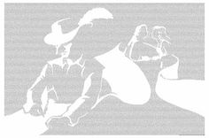 Cyrano de Bergerac by Edmond Rostand - Typographic Art ($26.95)