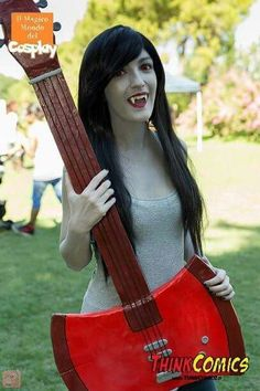 Cosplayer:Sabi Cosplay #Marceline #adventuretime #cosplay #cosplayer