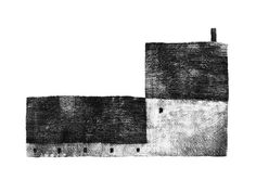 Book Illustration, Graphic Design Illustration, Building Drawing, Architecture Graphics, Cities, Black And White Painting, House Drawing, Illustrations And Posters, Conte