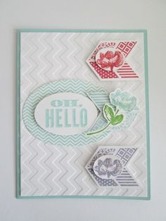 Retiring Oh Hello Stamp Set Free  shipping on any size order until April 25, 2014 from me Linda Bauwin CARD-iologist  Helping you create cards from the heart.