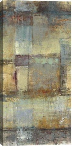 Resurgence II Abstract Canvas Wall Art Print by Jane Bellows