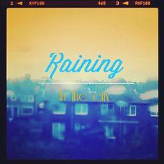 Raining in the city