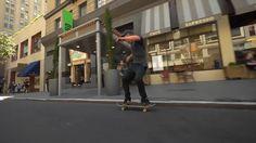 Real Skateboards: Dennis Busenitz Pushing San Francisco (Clip)