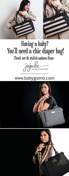 Having a baby? You'll need a chic #diaperbag! Check out our favorites from Ju-Ju-Be! #fashion