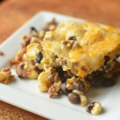 Black Bean Cornmeal Pie | Recipes