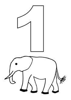 printable coloring pages number 11 | Number Coloring - 1-10- Free Printable Worksheets ...