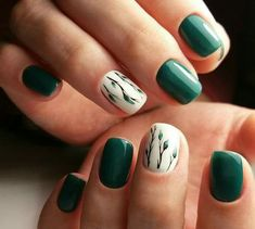 60 Stylish Nail Designs for Nail art is another huge fashion trend besides the stylish hairstyle, clothes and elegant makeup for women. Nowadays, there are many ways to have beautiful nails with bright colors, different patterns and styles. Fun Nails, Pretty Nails, Nail Art Designs, Nails Design, Green Nail Designs, Nail Designs Spring, Minion Nails, Super Nails, Stylish Nails