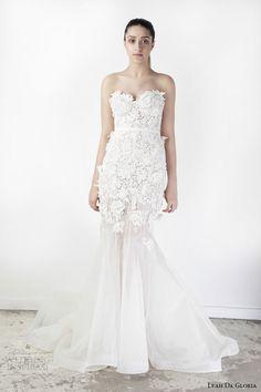 Leah Da Gloria Spring 2015 Wedding Dresses | Wedding Inspirasi