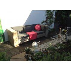 Attraktiv Lounge Sofa Modellen Aus Bauholz. Relaxen Im Ihre Garten!