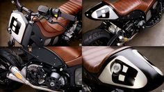 It's a maxi scooter. RSD Hyper Modified Yamaha TMax ~ Return of the Cafe Racers. Yamaha Motorbikes, Yamaha Motorcycles, Custom Motorcycles, Custom Bikes, Yamaha Cafe Racer, Cafe Bike, Cafe Racers, T Max 530, Motogp Valentino Rossi