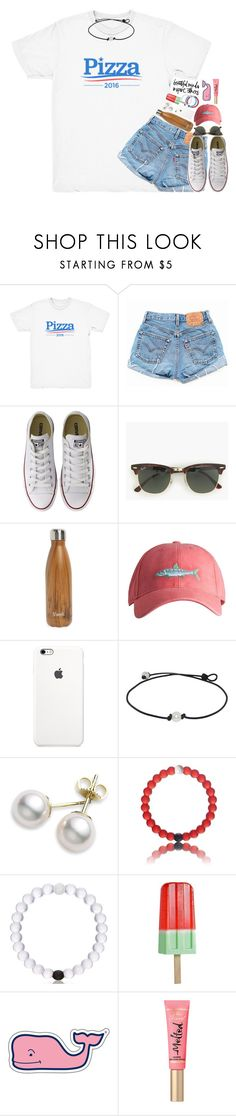 """are u Google? bc ur just what I've been searching for;)"" by kate-elizabethh ❤ liked on Polyvore featuring Levi's, Converse, J.Crew, S'well, Southern Tide, Mikimoto, Butter London and Vineyard Vines"