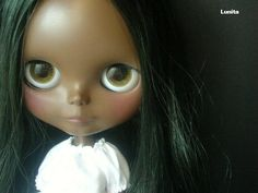 Lunitas Custom, inspiration for my own Beautiful Brown Blythe.