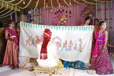 Ideas For Basket Wedding Ideas Receptions Birthday Party Decorations Diy, Bridal Decorations, Flower Decorations, Wedding Props, Wedding Gifts, Wedding Ideas, Telugu Wedding, Wedding Rituals, South Indian Weddings