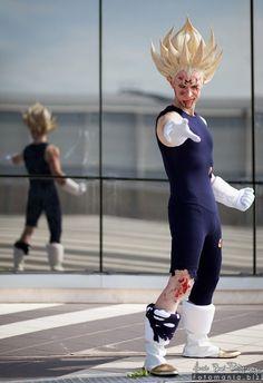 Cosplayer Alex Gaiati as Majin Vegeta Ssj from #DragonBallZ #cosplay #anime