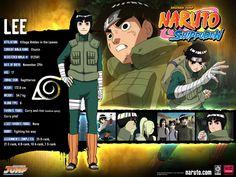 Naruto Characters: Rock Lee