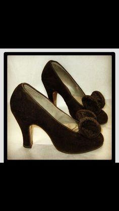1940s Women Footwear