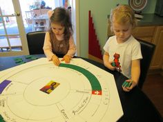 Montessori Messy: The Liturgical Calendar (or the Church's Year)