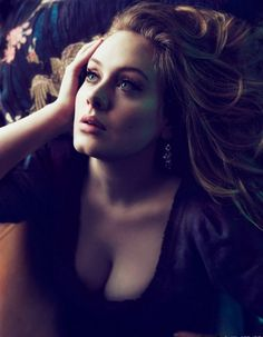 Adele. Vogue US, March 2012 I think she's gorgeous.