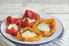Cinzia ai fornelli: Peperoni con pesto e mozzarella di bufala Pesto, Food And Drink, Ethnic Recipes, Blog, Blogging