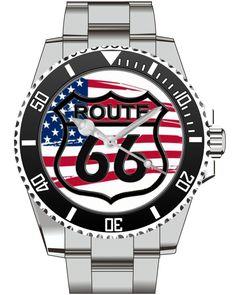 Route 66 USA - KIESENBERG ® Uhr 2638 von UHR63 auf Etsy