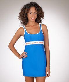 Nautica Signature Classic Solid Swim Dress #MADEINTHEUSA  #SWIMSPOT