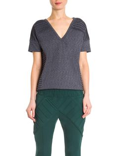 Camiseta Feminina Urucum - A. Niemeyer - Cinza - Shop2gether
