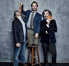 Misha Collins(Castiel) Richard Speight Jr.(Gabriel) and Timothy Omundson (Caine)