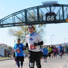 If you're ready to #rocktheroute #RT66Run #marathon #halfmarathon #marathonrelay #5k #funrun #RunTulsa Register today! #linkinbio