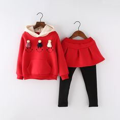 21.00$  Watch here - http://alia8b.shopchina.info/go.php?t=32764990324 - China kids branded clothes girls skirt sets long sleeve cotton cute girls sweat suits 21.00$ #SHOPPING