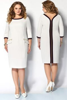 Plus Size Fashion, Simple Dresses, Plus Size Dresses, Plus Size Outfits, Dresses For Work, African Fashion Dresses, African Dress, Chic Outfits, Fashion Outfits, Girl Fashion